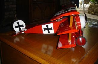 Profile of my Dr-1, ready to fly