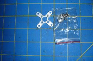 This is the motor mounting hardware supplied with the motor.