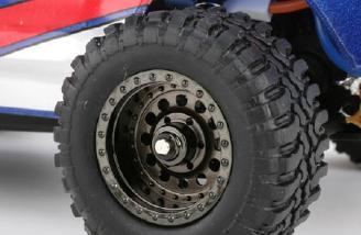 The tires on the new Desert Truck