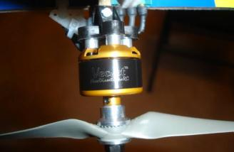 Proof that it is a custom motor from Scorpion: It comes with the VecJet name on the motor.