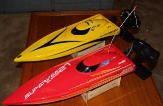 My original red SuperVee 27 and my NEW yellow SuperVee 27R.