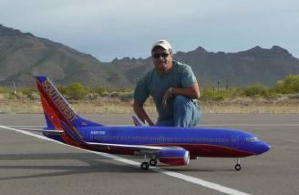 Rick and his Windrider Boeing 737 from the <a href=