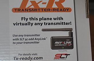 With the AnyLink adapter you can use your own transmitter.