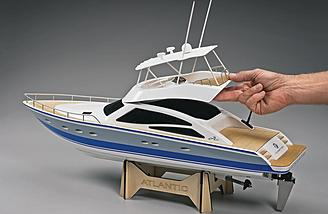 Thunder Tiger S Atlantic Motor Yacht Rtr Review Rc Groups
