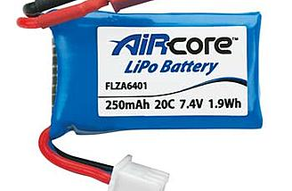 The Flyzone battery for the AirCore power core.