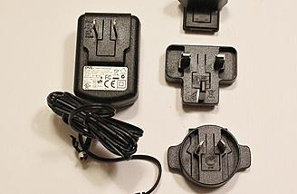 The Charger Comes with a variety of connectors so it can be used internationally.