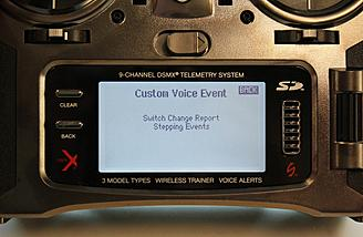 """To add one new sound highlight and select the """"Switch change Report option."""