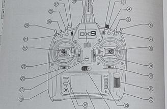 Transmitter diagram from the manual.