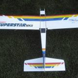 Superstar 2 with blue trim and club decals added.