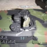 Here you see the tank commander and the external machine gun (MG) accessories.