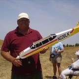 Ed Holt, our chief mechanic and test pilot who allowed us to make our deadline.