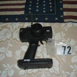 Here is the pistol grip and wheel transmitter that came with my ship on channel 72.