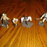 Jack Sparrow and his crew out of the package