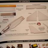 This picture of the included parts is from the excellent instruction manual.