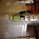 The battery of the B-17 is 6-cell and 350 mAh and must be directly charged.