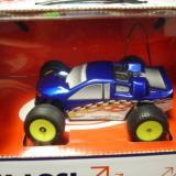 A blue Micro-T