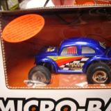 A blue Micro-Baja