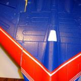 The wings are attached with the supplied glue and set aside for the glue to set up.