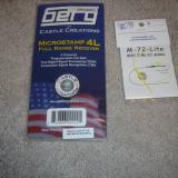 I bought the Berg 4L receiver from All E RC at the show and the Azarr antenna came from E Cubed RC by mail.