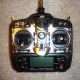 The JR 7202 transmitter