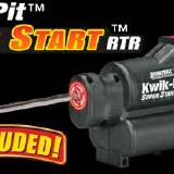 The Kwick-Pit starter is included with every truck. I bought a 2000 mAh 6-cell NiMH battery pack for it.