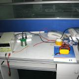 An engineering testing desk part of quality control