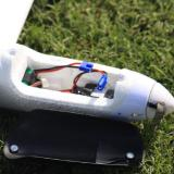 The canopy is held on by two magnets and gives access to the battery and connect for the ESC.