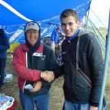 Grisha with Steven Neu of motor design fame