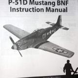 The BNF version has its own manual and covers the binding procedure and the optional rudder servo that is purchased separately.