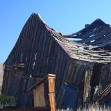 Bodie, CA, an old mining ghost town at over 8,000 feet in elevation.