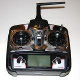 The 2.4GHz 4 channel transmitter with dual rates.