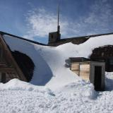 There was still a lot of snow on memorial weekend.