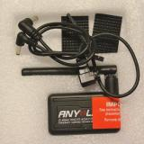 The AnyLink unit and the two cables that come with it.