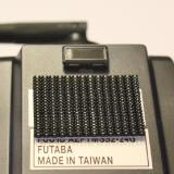 The matching fastener material on the back of my Futaba 7C