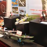 The Flyzone World War I Micro Series of planes is great for indoors or at the park in relatively calm conditions.