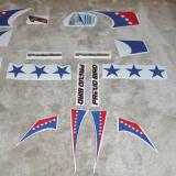 Here are the decals supplied by Al and laid out for assembly