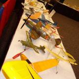 It was great to hear the kids responses when they saw these planes.