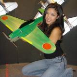 Model holding prototype of GWS 3D Zero