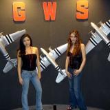 Nathia and Kayla with C-47s