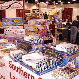 Another vendor selling a variety of toys and products
