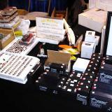 Lots of little DC motors