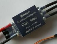 The 80 Amp Shock ESC with SBEC