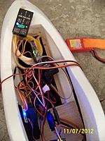 Name: FPV2.jpg Views: 89 Size: 108.6 KB Description: Showing that the FY30, Xlator, and PPM encoder hooked up and lighted.
