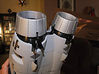 Name: DSCF1301.jpg Views: 1079 Size: 68.9 KB Description: Twin vectored thrust.  I'm either going to remove the servos and lock the nozzles in place or see if I can disable it.  I'd prefer to remove the servos as it will save weight and strain on the BEC.