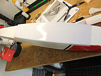 Name: DSCF3087.jpg Views: 85 Size: 163.0 KB Description: This is the plastic skid plate, glued to the bottom of the fuse.