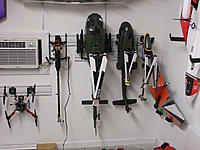 Name: DSCF3134.jpg Views: 106 Size: 173.3 KB Description: I spend a good portion of the afternoon rearranging the workshop.  I made a home for the Chaos.