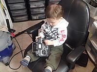 Name: IMG_20130122_193711.jpg Views: 113 Size: 183.9 KB Description: Young Jedi begins his training...