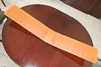 Name: Electra_5.jpg Views: 11 Size: 61.0 KB Description: The finished wing, covered in one piece of nylon.