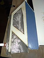 Name: june19 cabin after.jpg Views: 8 Size: 4.12 MB Description: Stronger now. I'll fiberglass the roof beams in as well