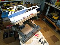 Name: june22 window trim.jpg Views: 8 Size: 4.00 MB Description: Finishing up the window trim. tilting vise is really helpful